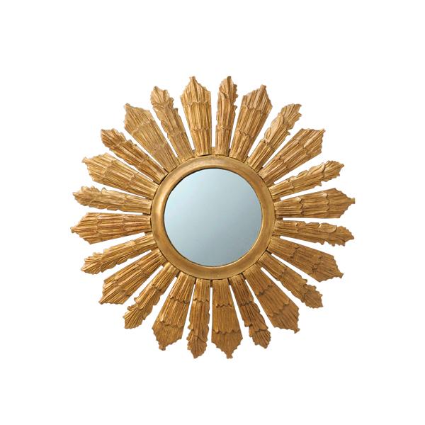 espejo sol en dorado grande ideas marbella