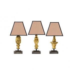 juego-lamparas-auxiliares-doradas
