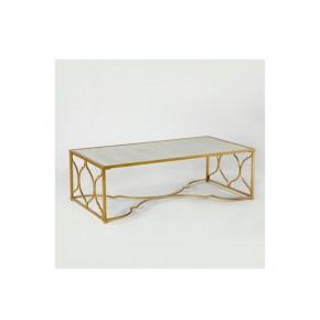mesa-centro-metal-espejo-oro-envejecido