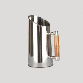 jarra metal asa bambu